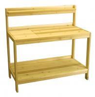 Click to enlarge image Garden Potting Bench - A delight for Gardening Enthusiasts