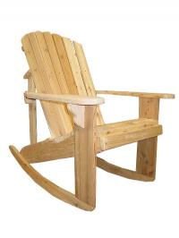 Click to enlarge image Standard Adirondack Rocking Chair, 20`` seat width -