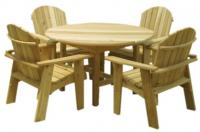 Click to enlarge image Garden Table, 46`` Round - This is the Garden Table that matches the Garden Chair